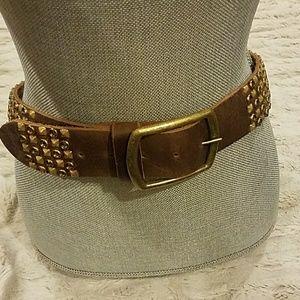 Gem studded belt